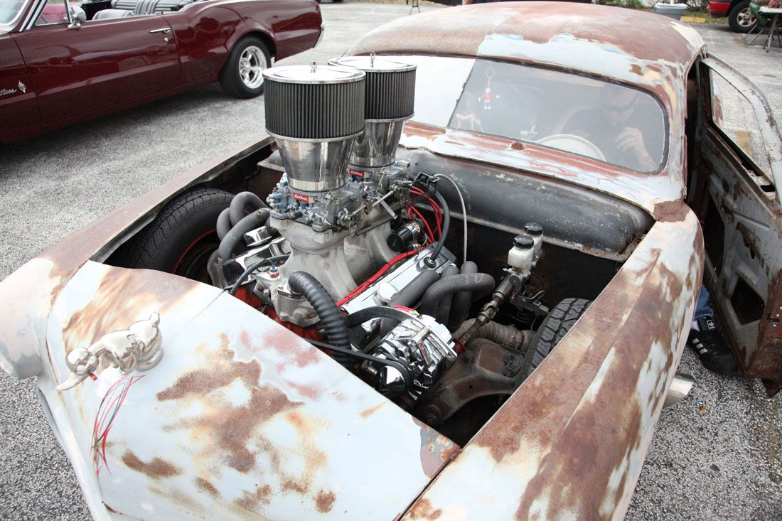 Special cars  Ford Low Rider Rat Rod